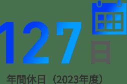 年間休日(2020年度)125日
